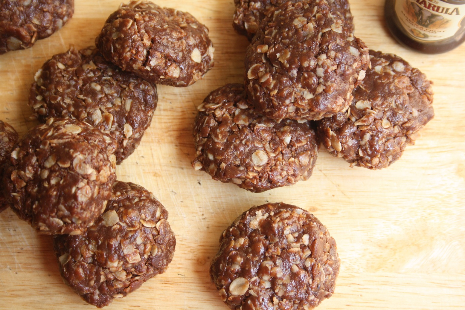 Nutella PB No-Bake Cookies