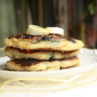 Guilt-Free Blueberry Pancakes (Eggless, Sugar-Free)
