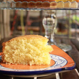 Coconut and Lemongrass Cake