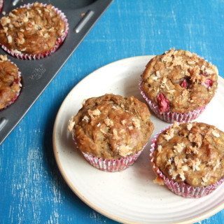 Wholewheat Banana Coconut Muffins (Vegan)
