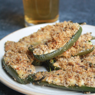 Baked Jalapeno Cheese Poppers