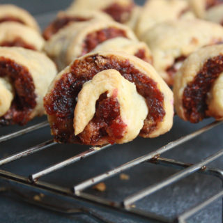 Fruit Mince Rugelach (Eggless)