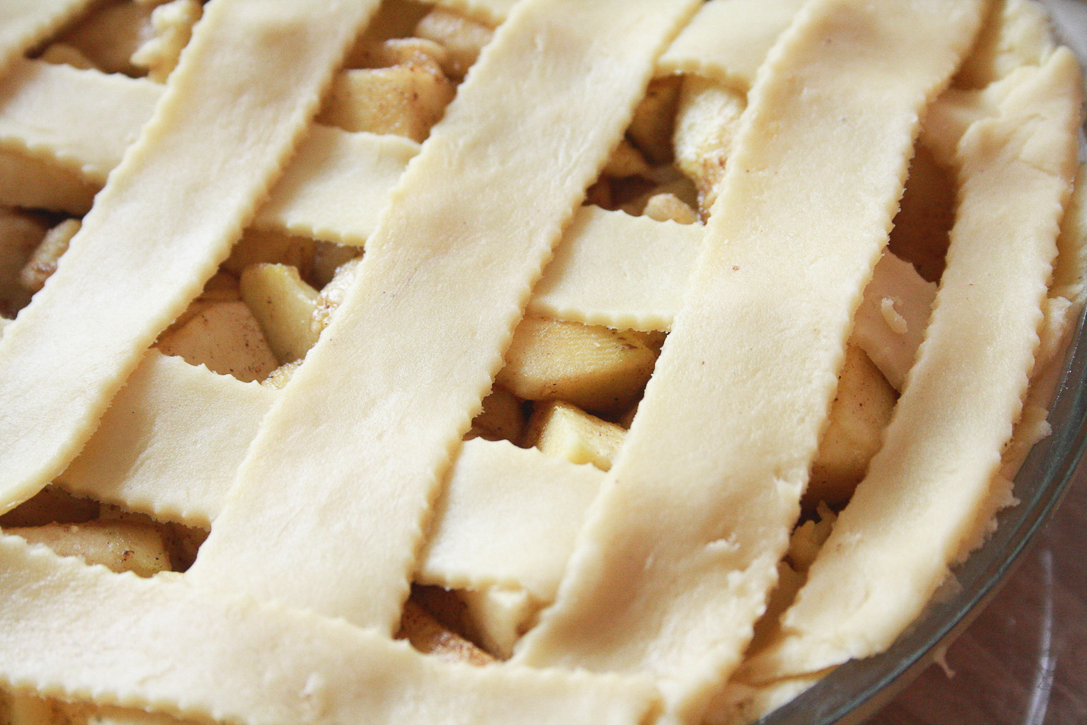 Classic apple pie made with a from-scratch, all-butter flaky crust!