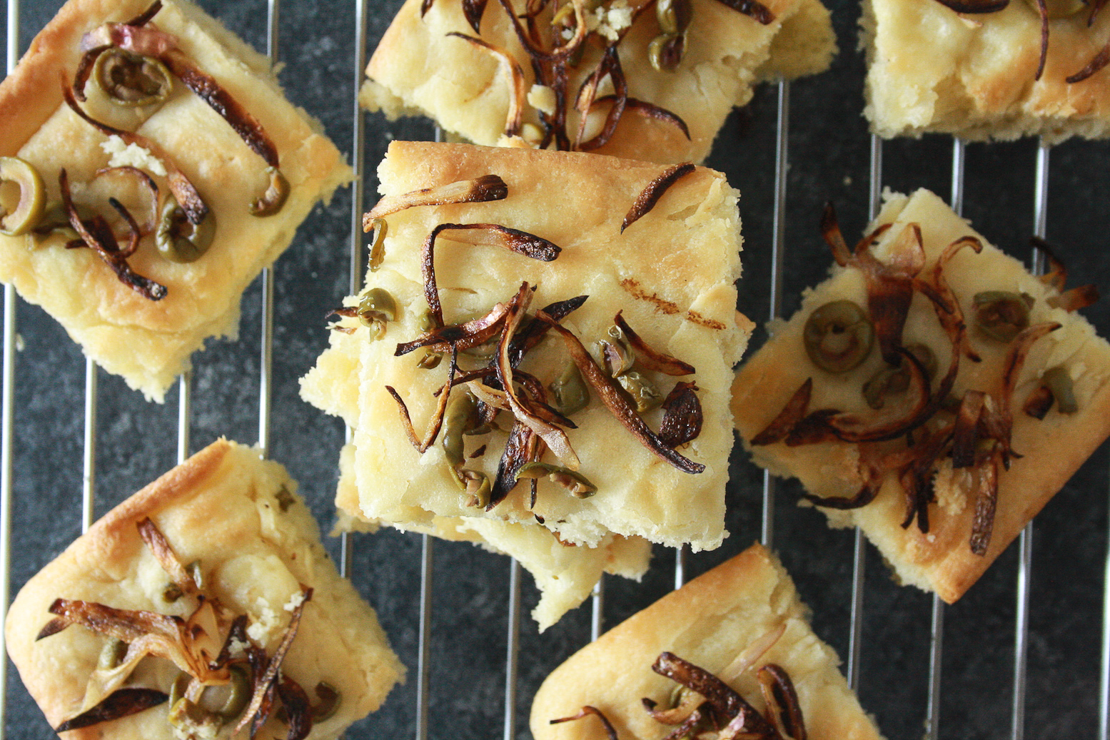 Super easy, soft and fluffy homemade focaccia with lots of olive oil!