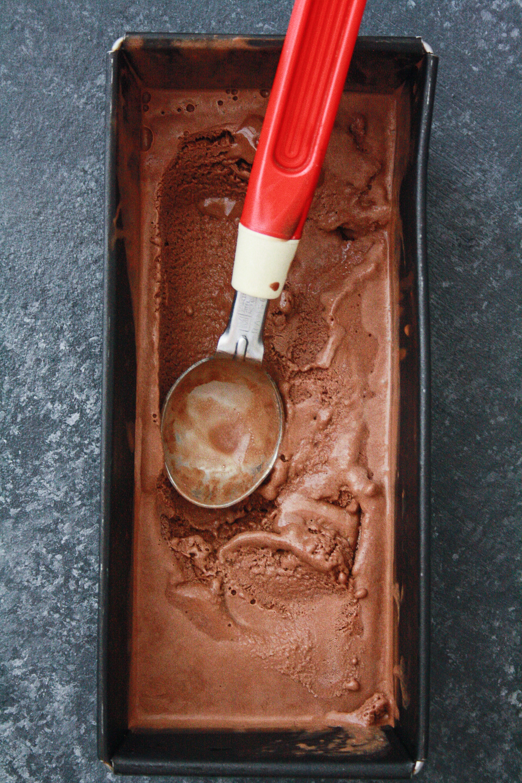 A creamy, chocolatey vegan ice cream made with just three ingredients!