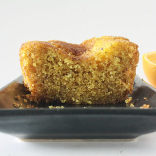 Orange Semolina Syrup Cake