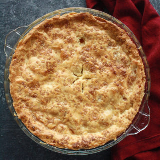 Double Crusted Peach Pie