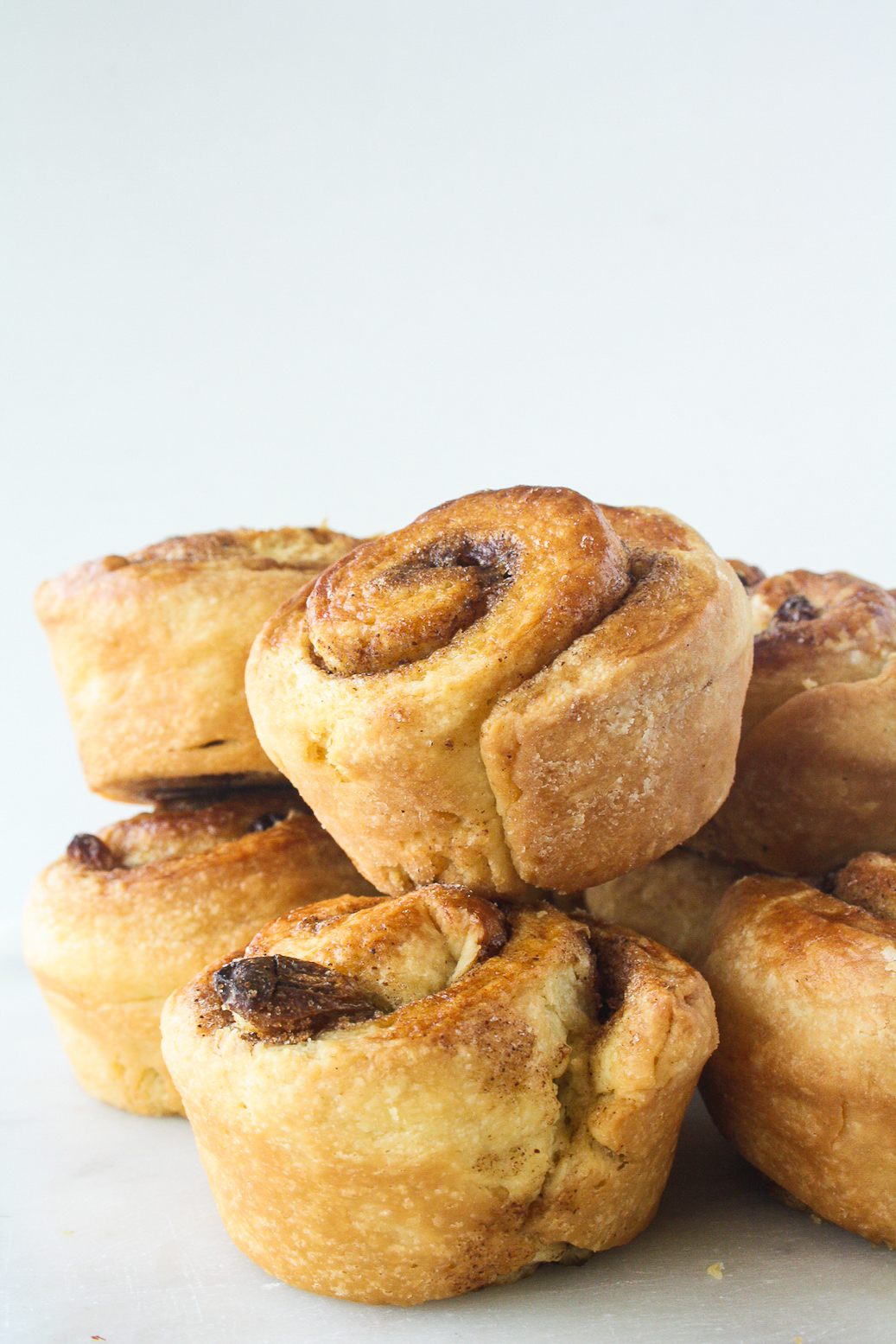 Tender, flaky, buttery danishes with cinnamon, brown sugar and raisins!