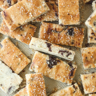 Rosemary Olive Oil Shortbread (Eggless)