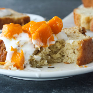 Yoghurt Cake with Mangoes and Cream