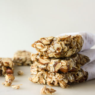 Versatile nutty, healthy granola bars!