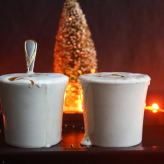 Caramelised White Hot Chocolate