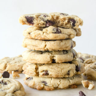 Browned Butter Chocolate Chip & Walnut Cookies